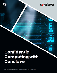 Confidential computing with Conclave